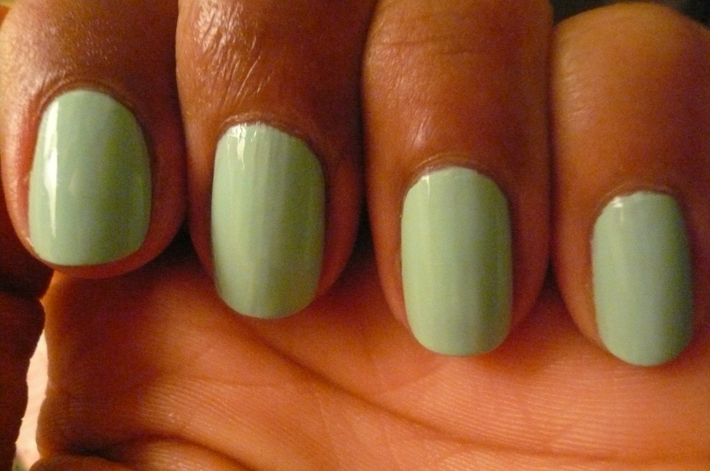 First New Nail Polish in 6 Weeks! MAC: Mischievous Mint