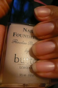 Another Quickie: butter London's Nail Foundation