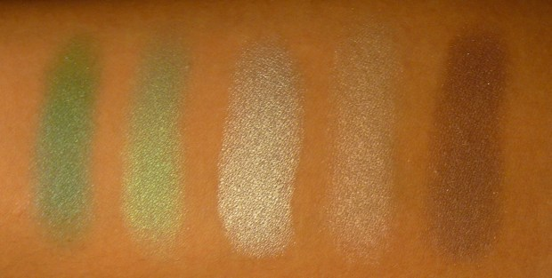 MAC Shadow Collection (5)