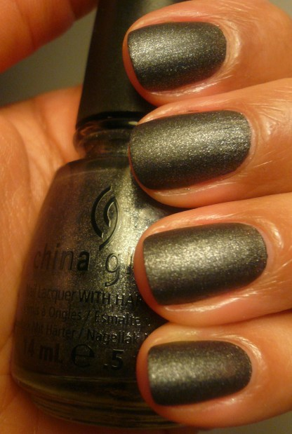 China Glaze Stone Cold - One Coat