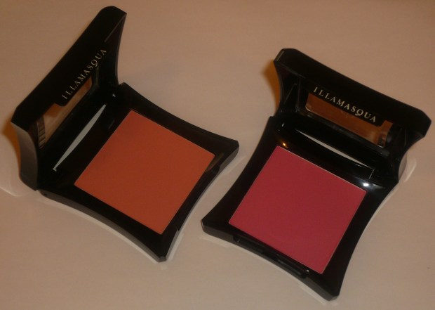 Illamasqua Blush in Lover and Hussy