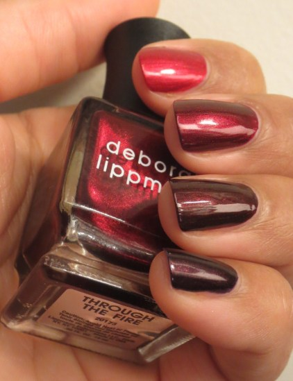 Deborah Lippmann Through the Fire comparisons