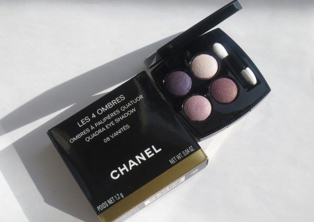 My First Chanel Quad: Les 4 Ombres in 08 Vanités
