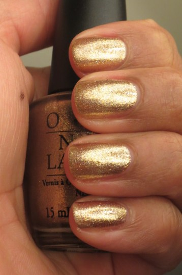 OPI Dazzled by Gold (3)