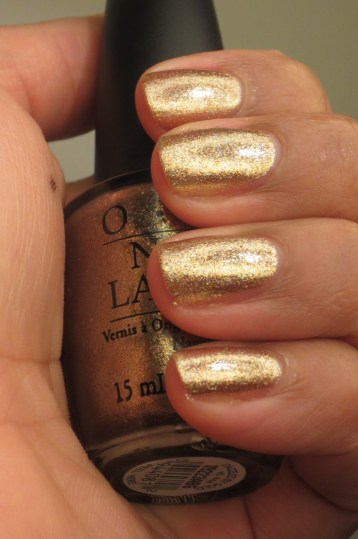 OPI Dazzled by Gold (4)