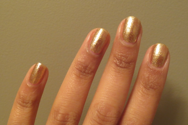 OPI Dazzled by Gold (6)
