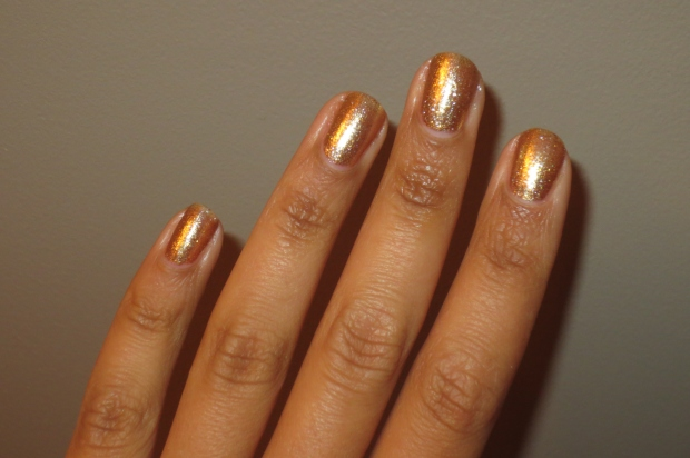OPI Dazzled by Gold (7)