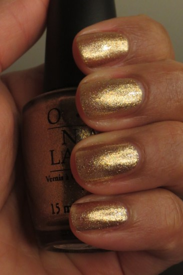 OPI Dazzled by Gold