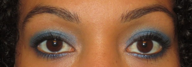 Urban Decay Radium Blue Eyeshadow Look  (5)