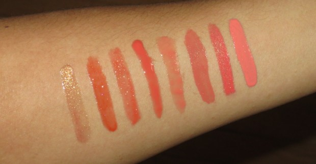 Warm lipglosses (2)