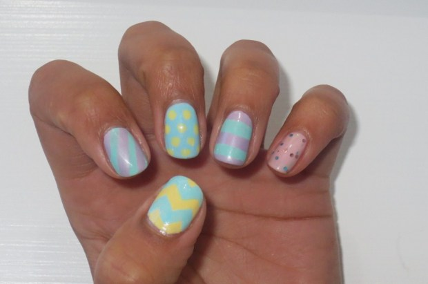 Easter Manicure - left hand (2)