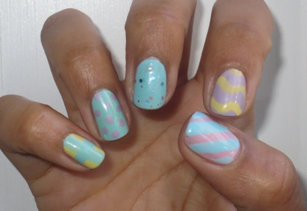 Easter Manicure - right hand (2)