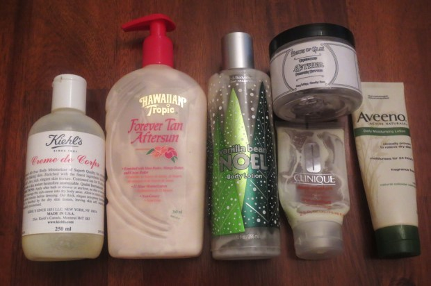 Empties #1 2013 - Body Cream
