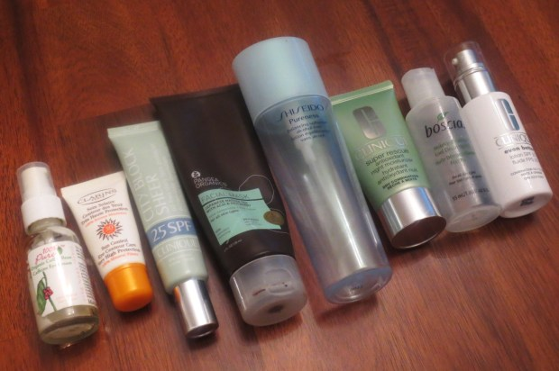 Empties #1 2013 - Facial Skincare