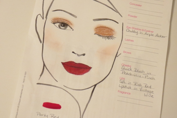 Clinique Face Chart (3)