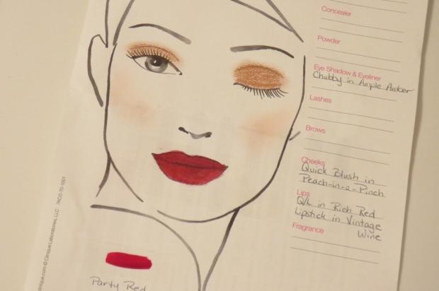 Clinique Face Chart (3)