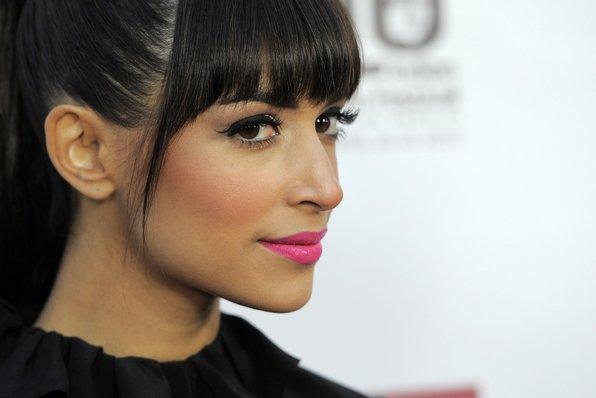 Hannah Simone Cool Pink Lips
