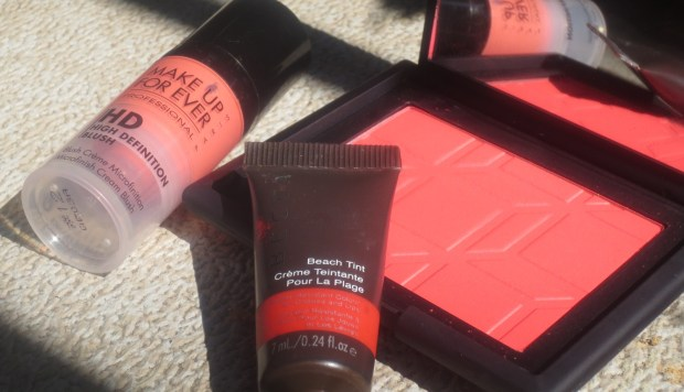 Becca Beach Tint Papaya comparison (2)