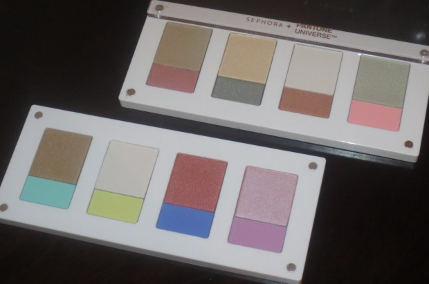Sephora + Pantone Universe Full Spectra shadow palettes (3)