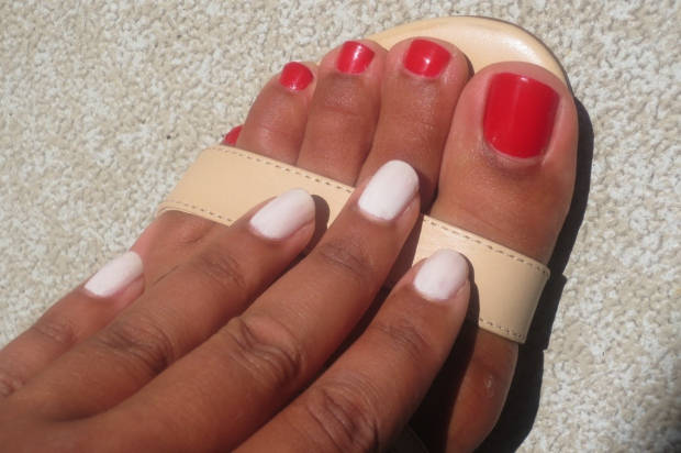 Summer Polish Combo - Red and White (2)