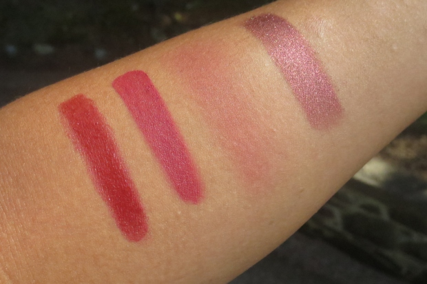 Fall Makeup - Deep Red swatches