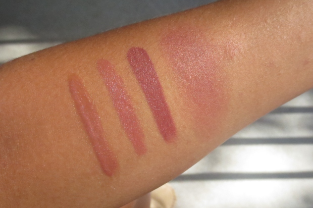 Fall Makeup - Mauves swatches (3)