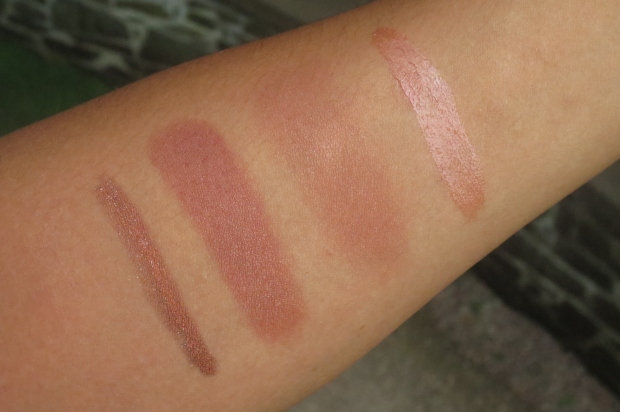 Fall Makeup - Russet swatches (2)