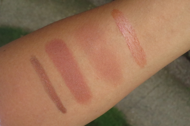 Fall Makeup - Russet swatches (3)