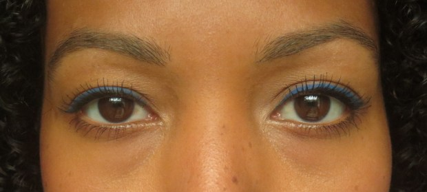 Stila Stay All Day Waterproof Liquid Eyeliner in Cobalt  (3)