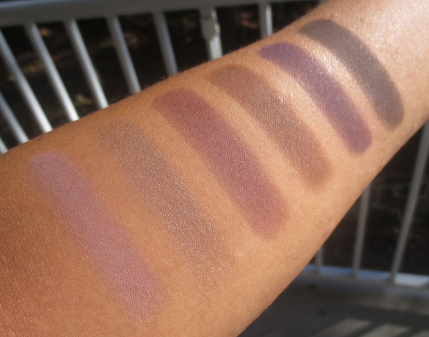Laura Mercier Artists Palette swatches