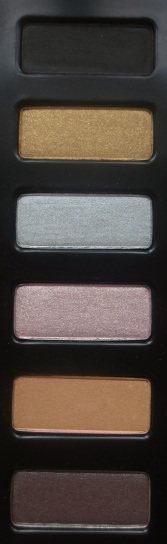 Kat Von D Spellbinding Eyeshadow Book swatches