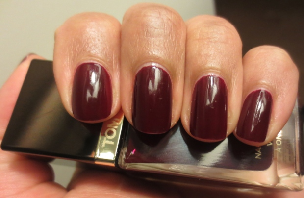 Tom Ford Bordeaux Lust nail polish