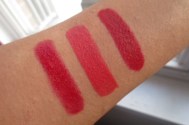 Tom Ford True Coral comparison swatches
