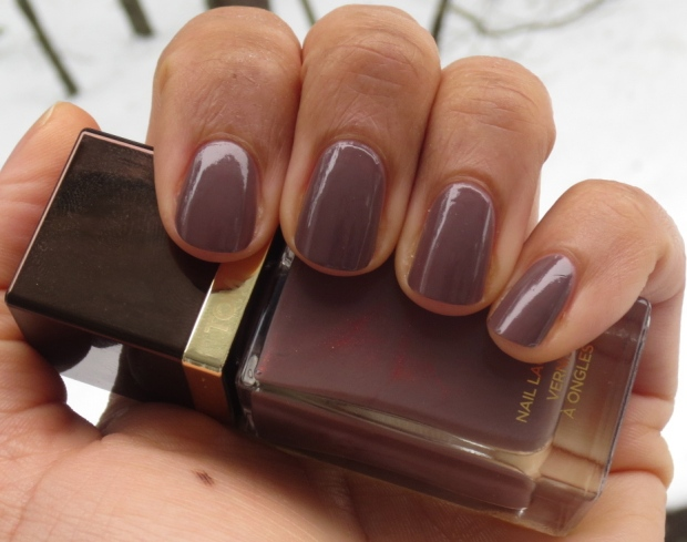 Tom Ford Black Sugar nail polish