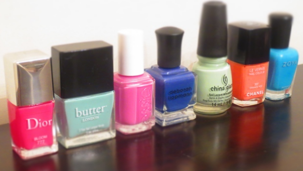Spring 2014 Nail Polish Colors
