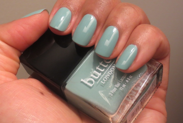 butter London Poole swatch