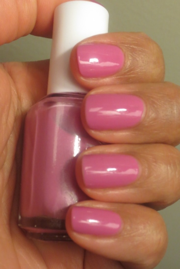 Essie Splash of Grenadine swatch