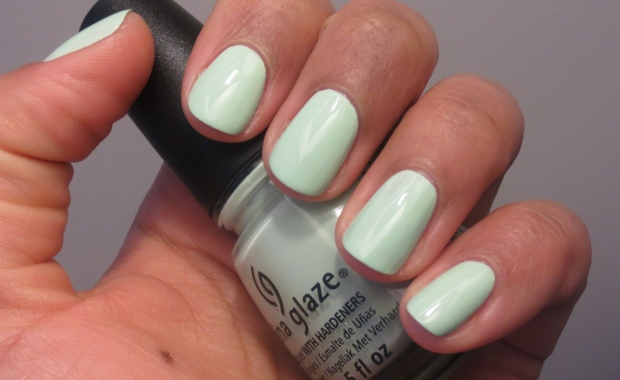 China Glaze Re-fresh Mint swatch