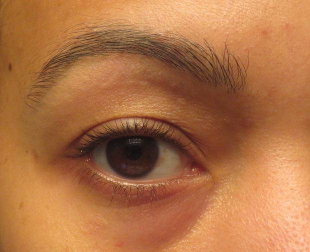 Lashes after Rapidlash