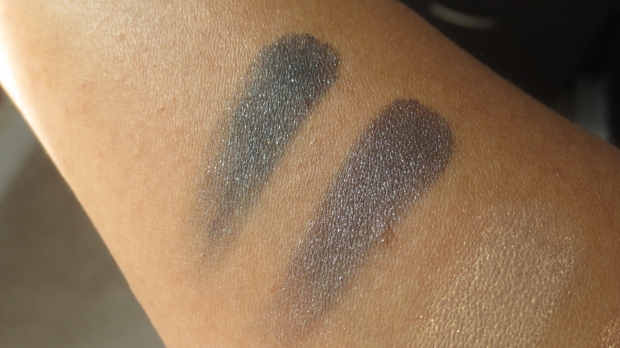 MAC Dark Soul vs Soul Serenade comparison swatches eyeshadow