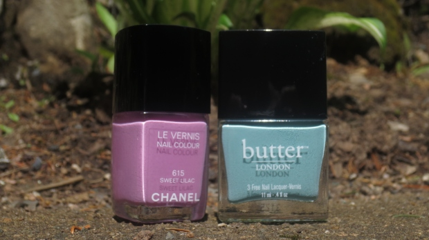 Chanel Sweet Lilac and butter London Poole