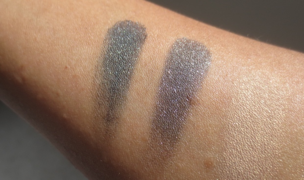 MAC Soul Serenade vs Dark Soul eyeshadow comparison swatches