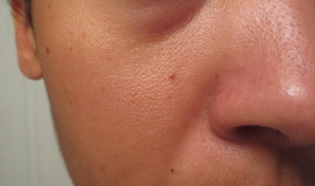 Skin before MUFE primer