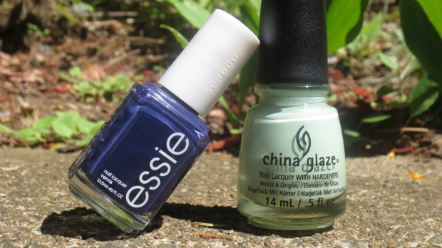 Essie No More Film and China Glaze Re-Fresh Mint