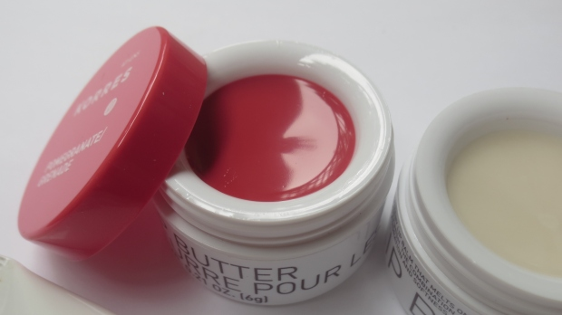 Korres Lip Butter in Pomegranate