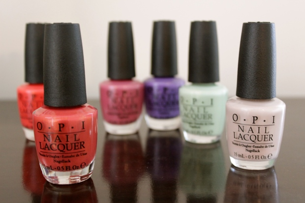 OPI hawaii spring 2015 collection