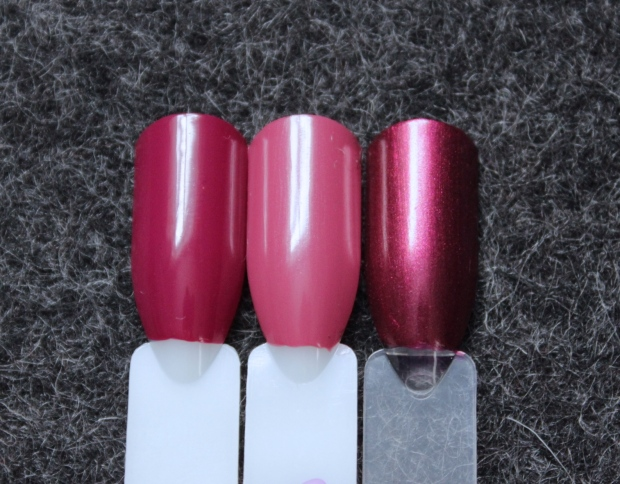 OPI just lanai-ing around swatch comparison