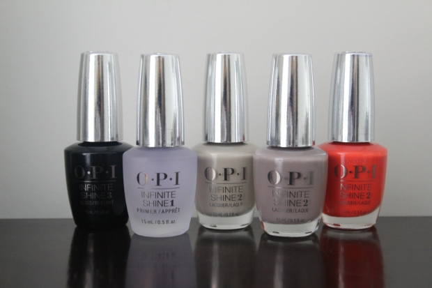 OPI Infinite Shine polishes