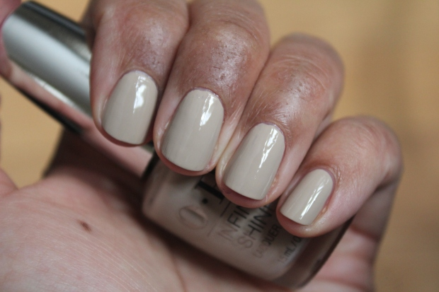 OPI Maintaining My Sand-ity swatch