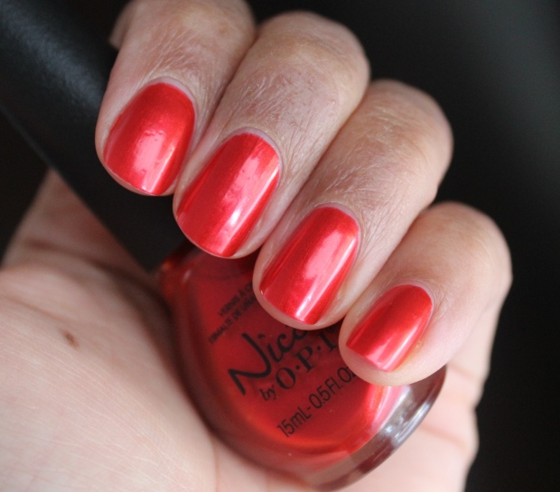 Nicole by OPI Always a Classic Coca-Cola swatch